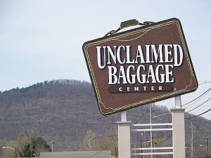The Unclaimed Baggage Center in Alabama