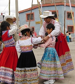 Colca Peru girls