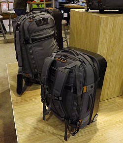 hard shell suitcase backpack