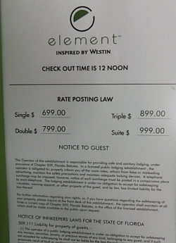 hotel rate