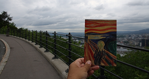 The Scream in Norway