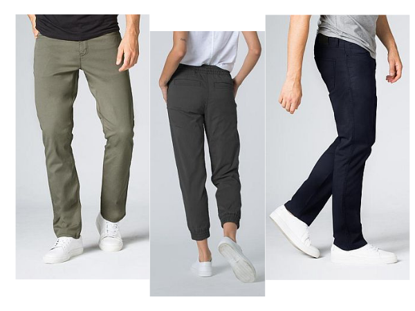 DUER pants for travelers