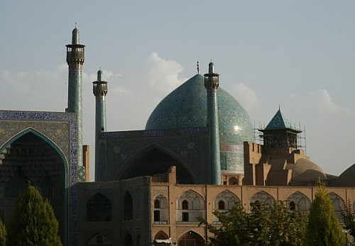 Iran blue mosque