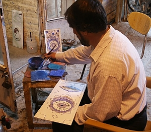 Iran painter