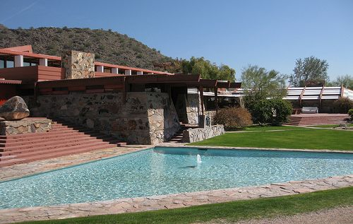 Frank Lloyd Wright house Arizona