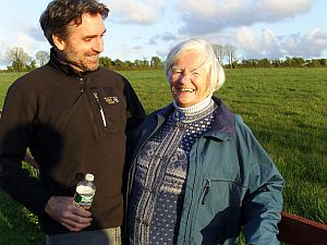 Northam and mother