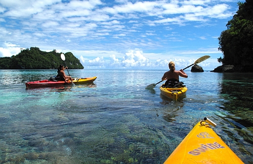 Palau kayak tour