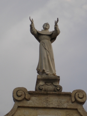 A Statue of St. Joseph in the town of Copertino