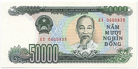 50 000 Dong Note