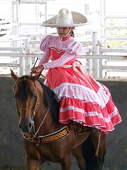 mexican rodeo woman
