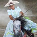 Female rodeo rider