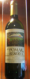 Pomar Reserva wine bottle